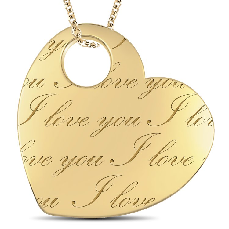 l round valentines com amazon wife dp to necklace gold pendant my day