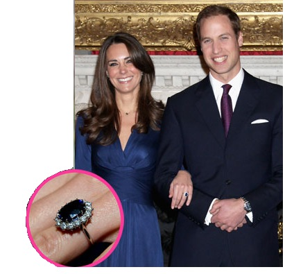Kate Middleton will now wear lady Di's ring!