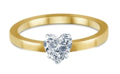 Heart-Shape-Solitaire-Ring