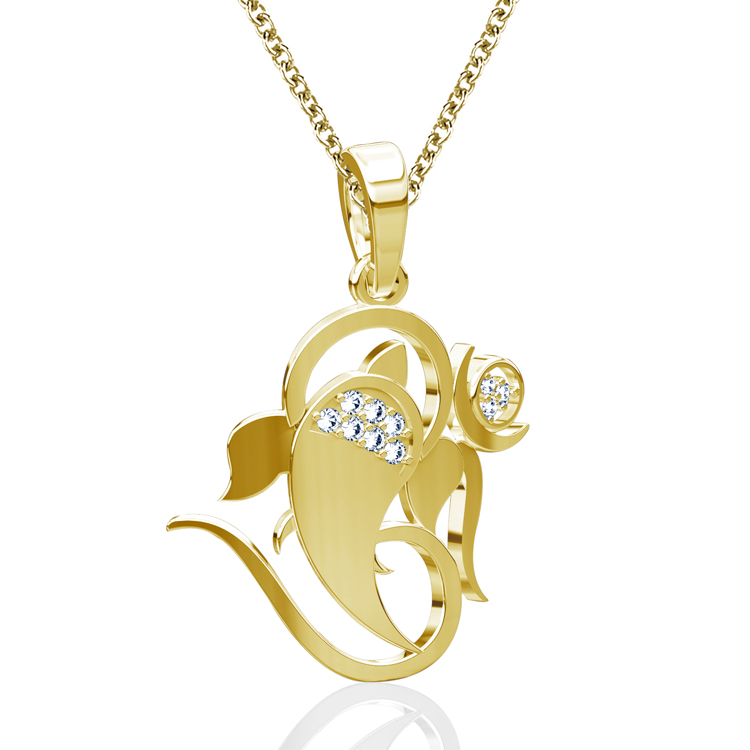Ganesha pendants from caratlane wear the lord of success close to ganesha chaturthi or ganesh puja is an auspicious occasion for most people to ppray for success in all endeavours to wish for good fortune prosperity and aloadofball Image collections