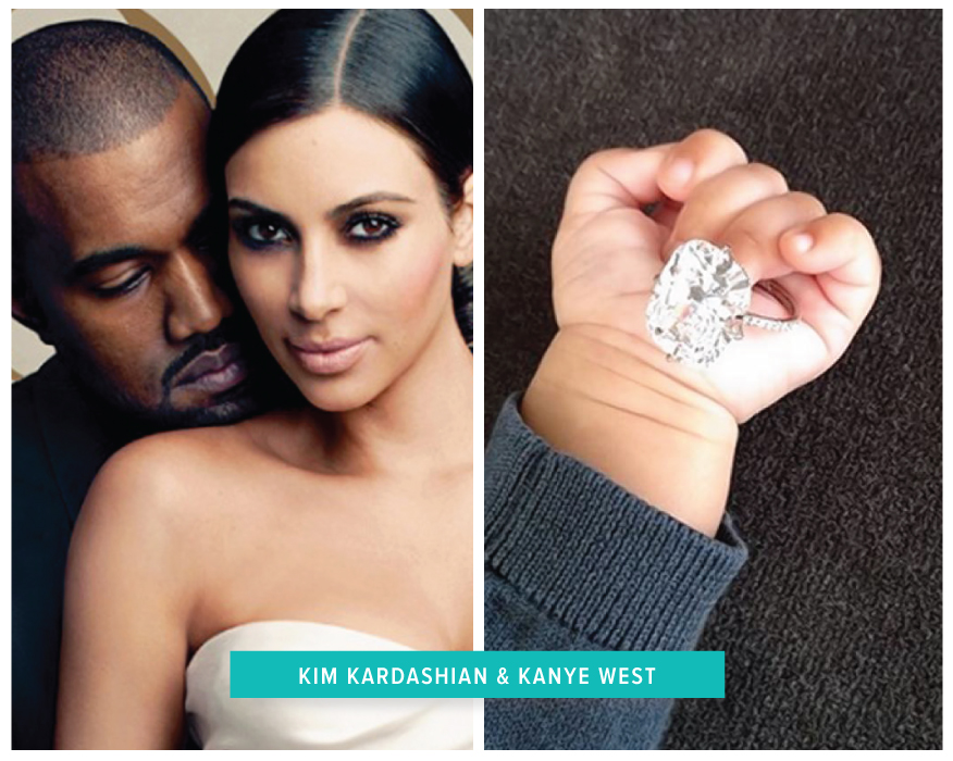 Celeb Solitaire Rings