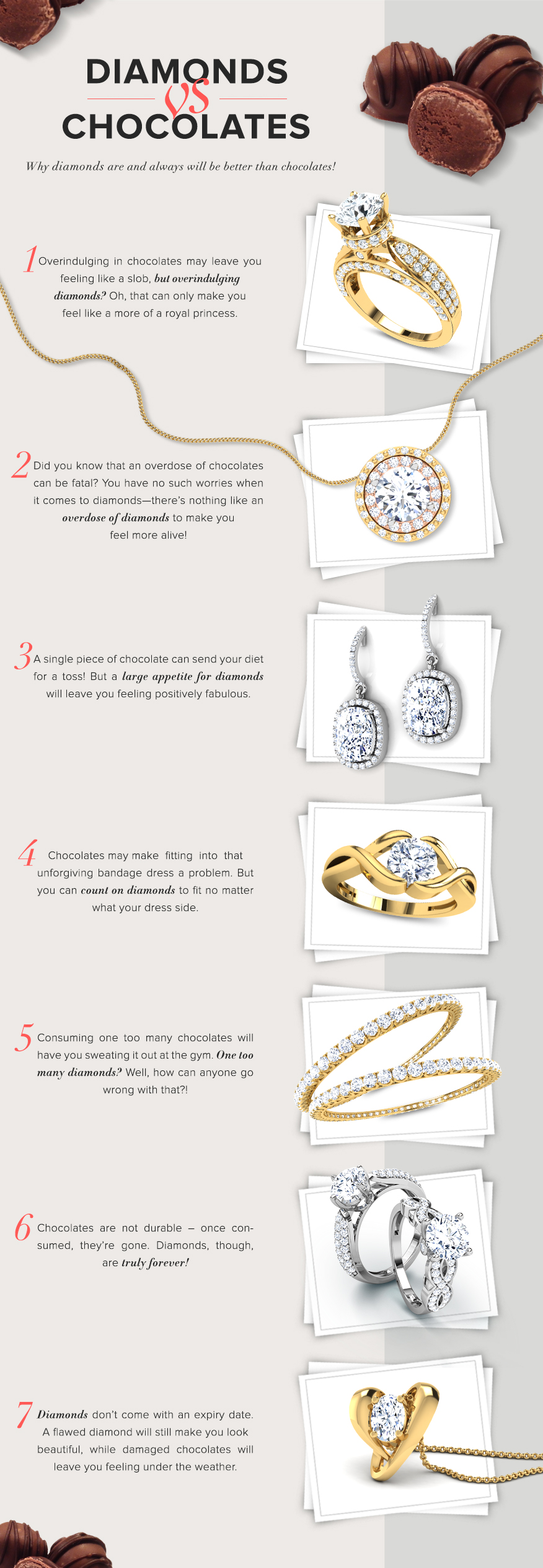 Diamond Jewellery for V-Day