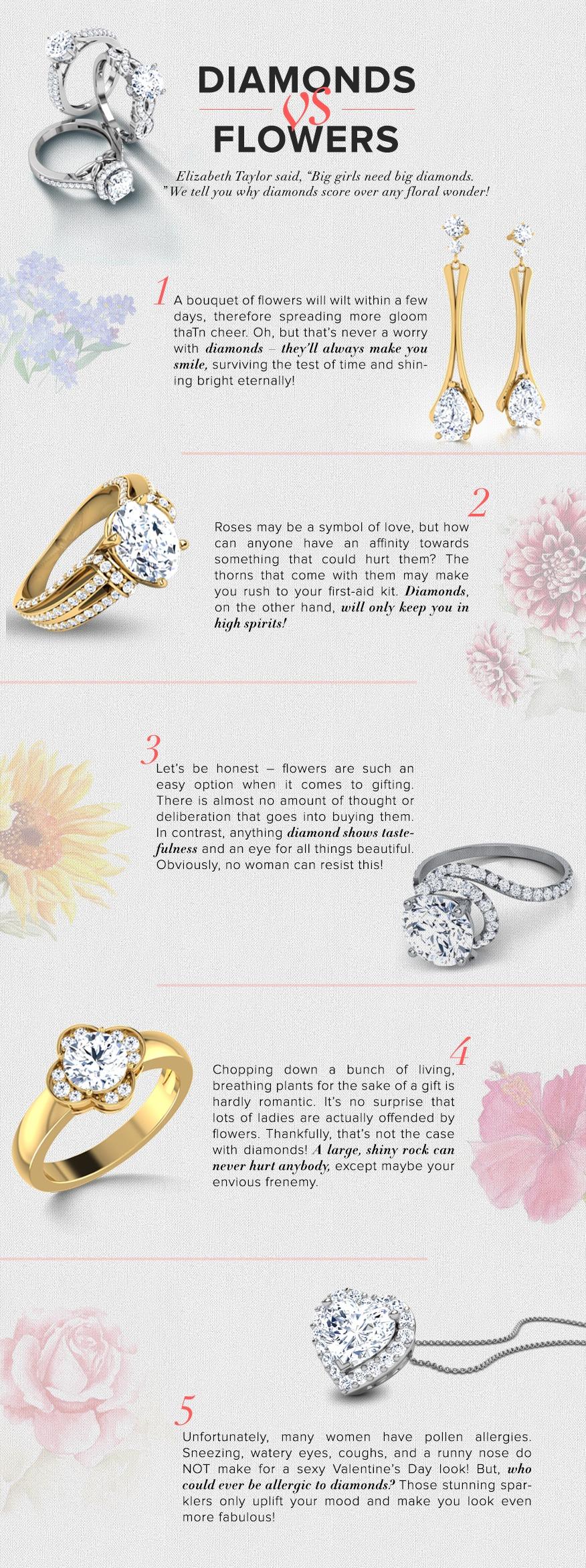 V-DAY EDITION: DIAMONDS VS. DAISIES?