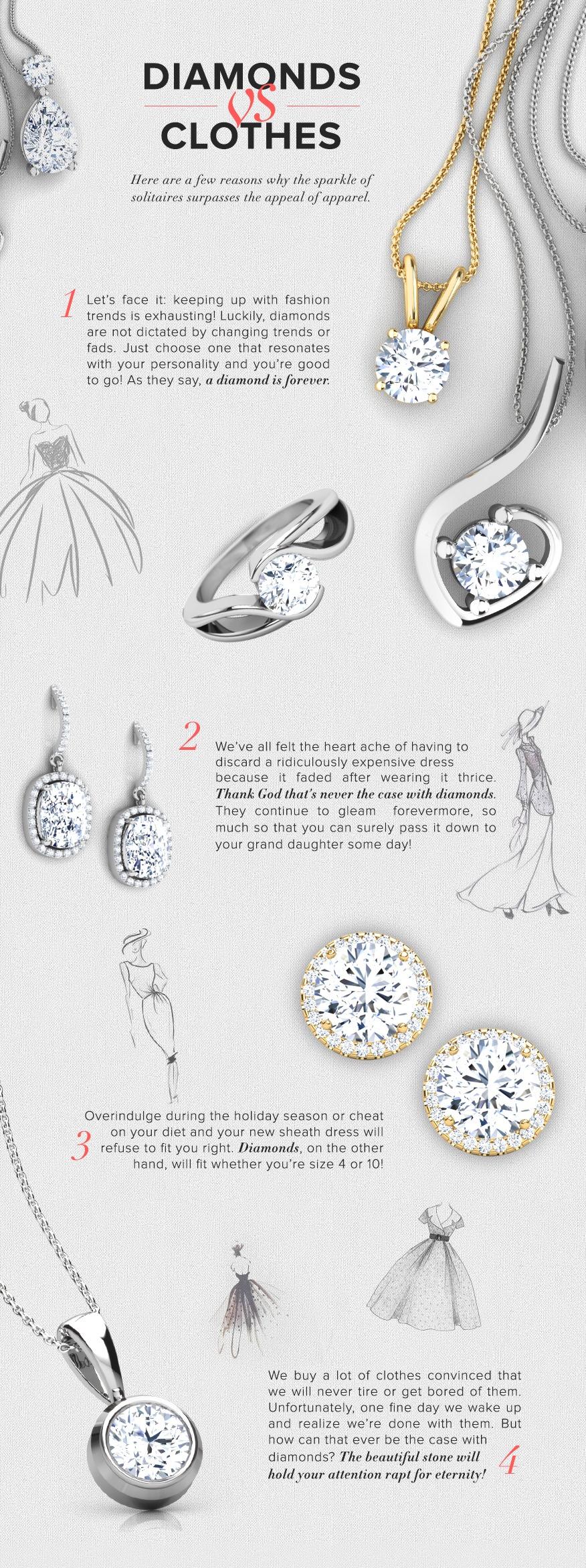 V-DAY EDITION: DIAMONDS VS DRESSES