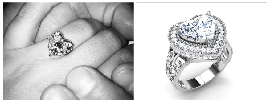 Lady-Gaga-Amica Solitaire Ring