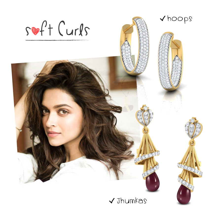 Match Your Earrings To Your Hairstyle The CaratLane Edit - Edit your hairstyle