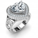Amore Solitaire Ring Mount